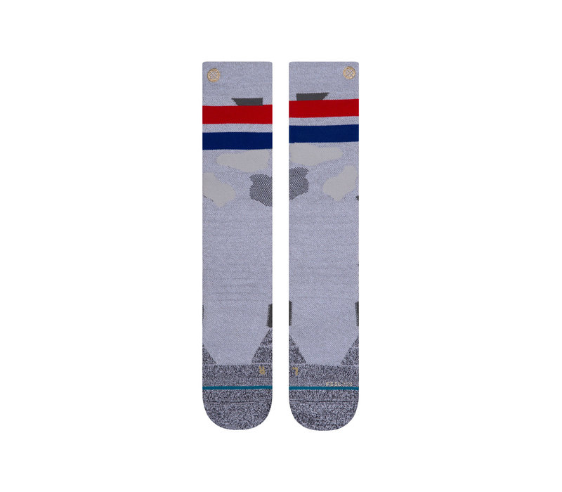 Stance Praisey Snow Grey Large