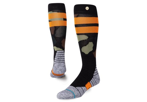 Stance Stance Praisey Snow Black Large