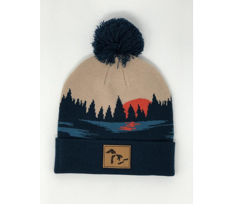 Third Coast Moonlight Beanie Beige