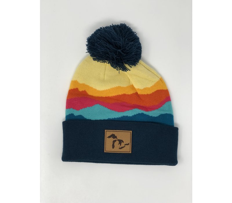 Third Coast Ranges Beanie Pink