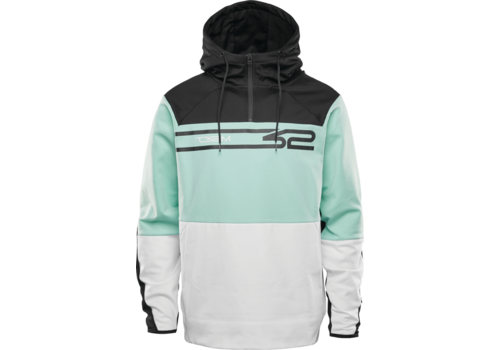 Thirtytwo Thirtytwo Signature Tech Hoodie White Mint