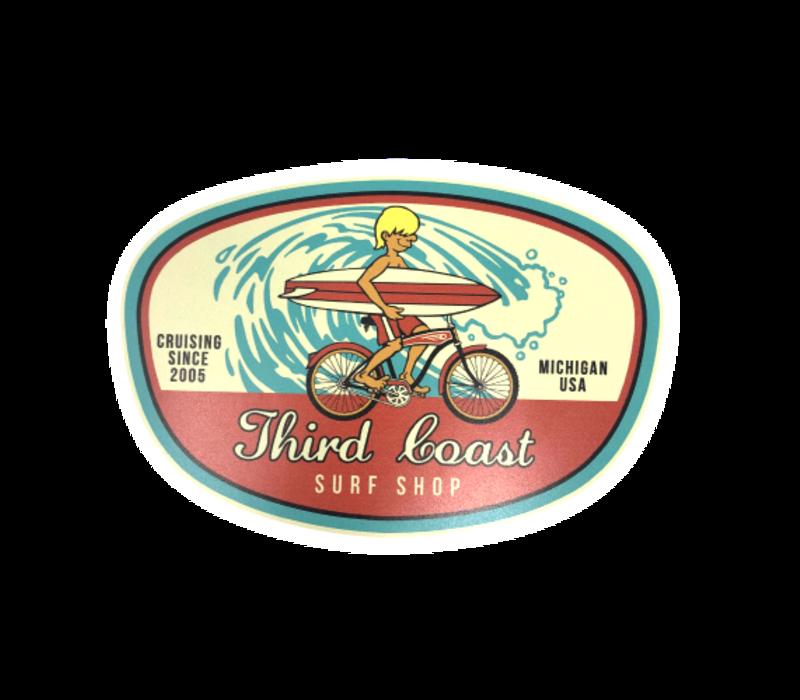 TCSS Surf Bike 2.0 Sticker