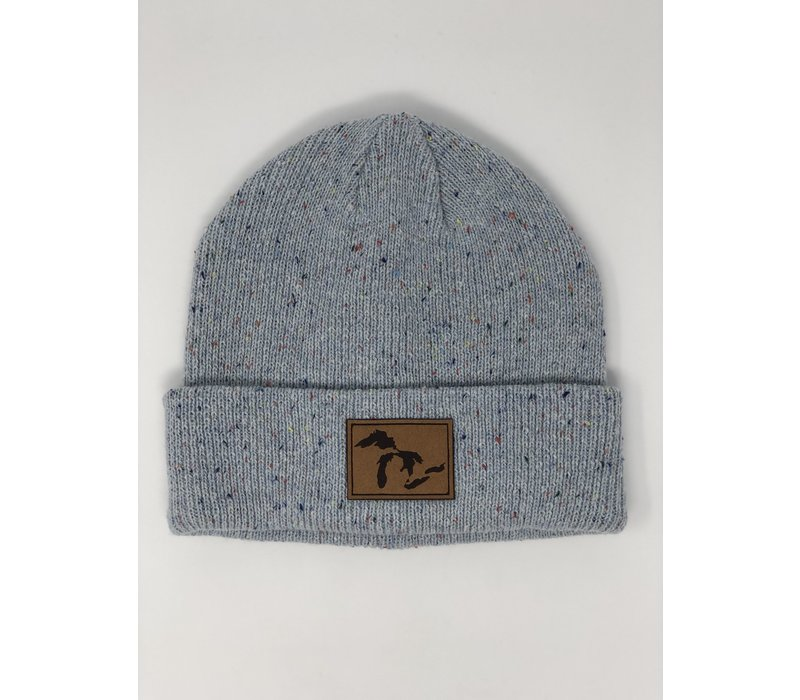 Third Coast Daily Pine Beanie Sky