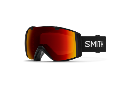 Smith Smith I/O Black 2021 ChromaPop Sun Red Mirror