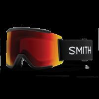 Smith Squad XL Black 2021 ChromaPop Sun Red Mirror
