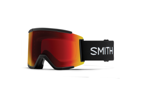 Smith Smith Squad XL Black 2021 ChromaPop Sun Red Mirror