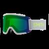 Smith Squad XL Sport White 2021 ChromaPop Everyday Green Mirror
