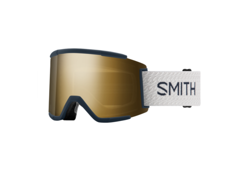 Smith Smith Squad XL  French Navy Mod 2021 ChromaPop Sun Black Gold Mirror
