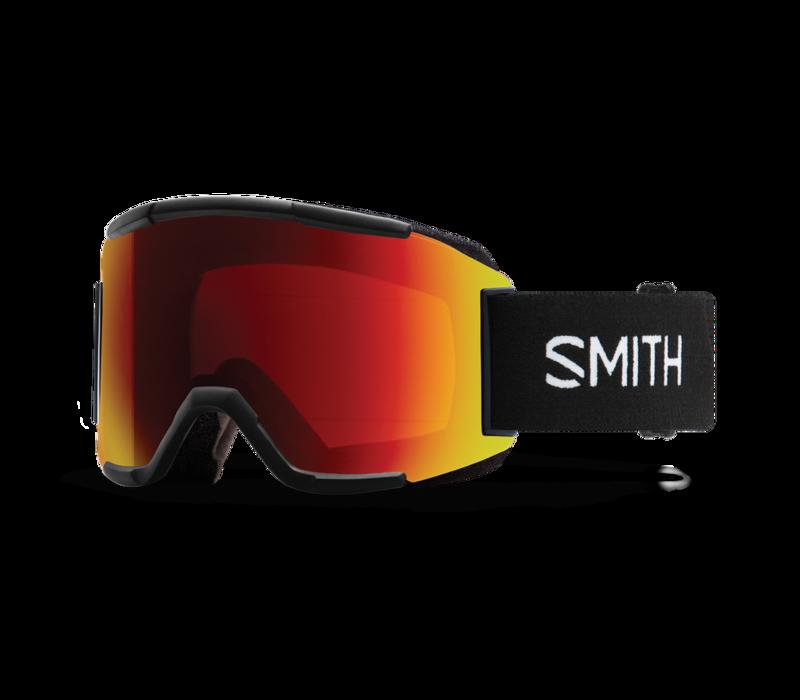 Smith Squad Black 2021 ChromaPop Sun Red Mirror