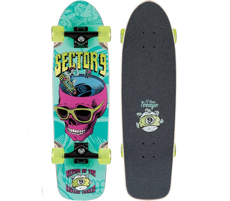 "Sector 9 Return Of Shred Complete 30.5"" x 8.625"""