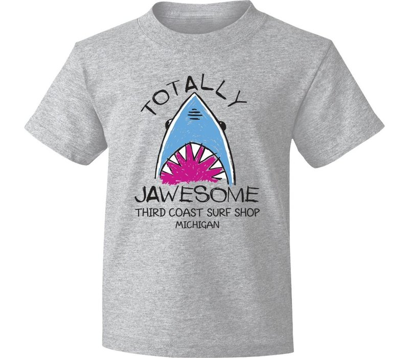 Third Coast Jawesome Youth Tee Athletic Heather
