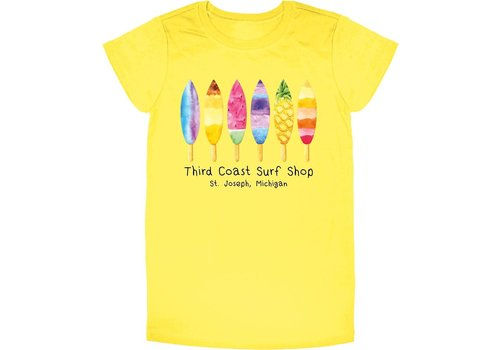 Third Coast Third Coast Board Pops Youth Tee Yellow