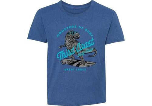 Third Coast Third Coast Surf Rex Youth Tee Royal Heather