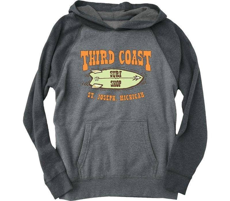 Third Coast Starfish Twin Youth Hoodie Nickel