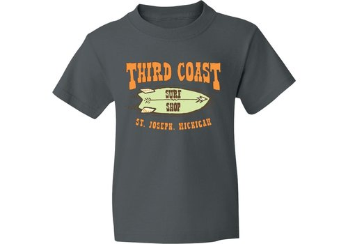 Third Coast Third Coast Starfish Twin Youth Tee Charcoal