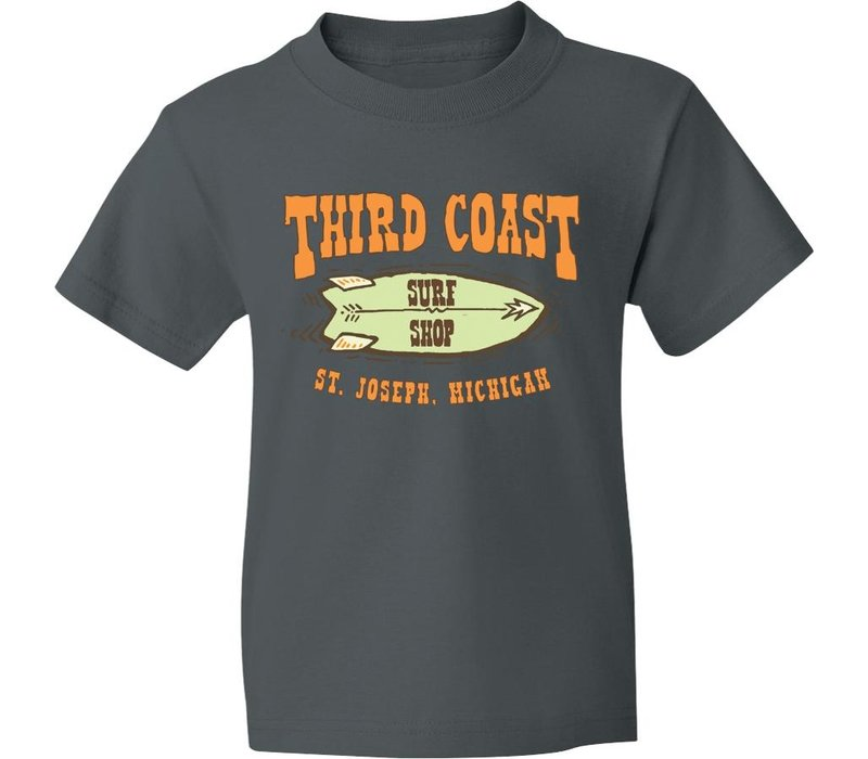 Third Coast Starfish Twin Youth Tee Charcoal