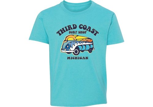 Third Coast Third Coast Funset Van Youth Tee Scuba
