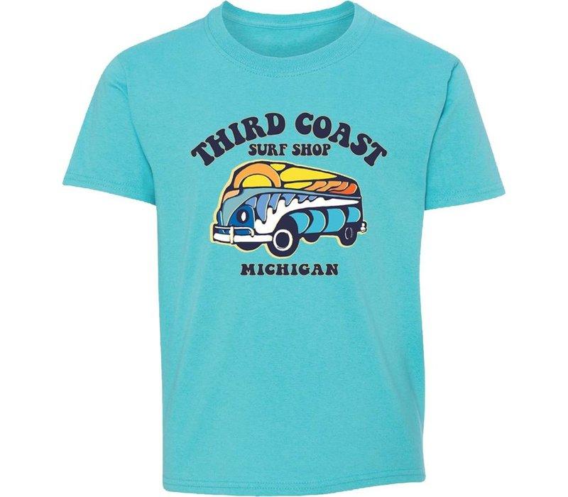 Third Coast Funset Van Youth Tee Scuba