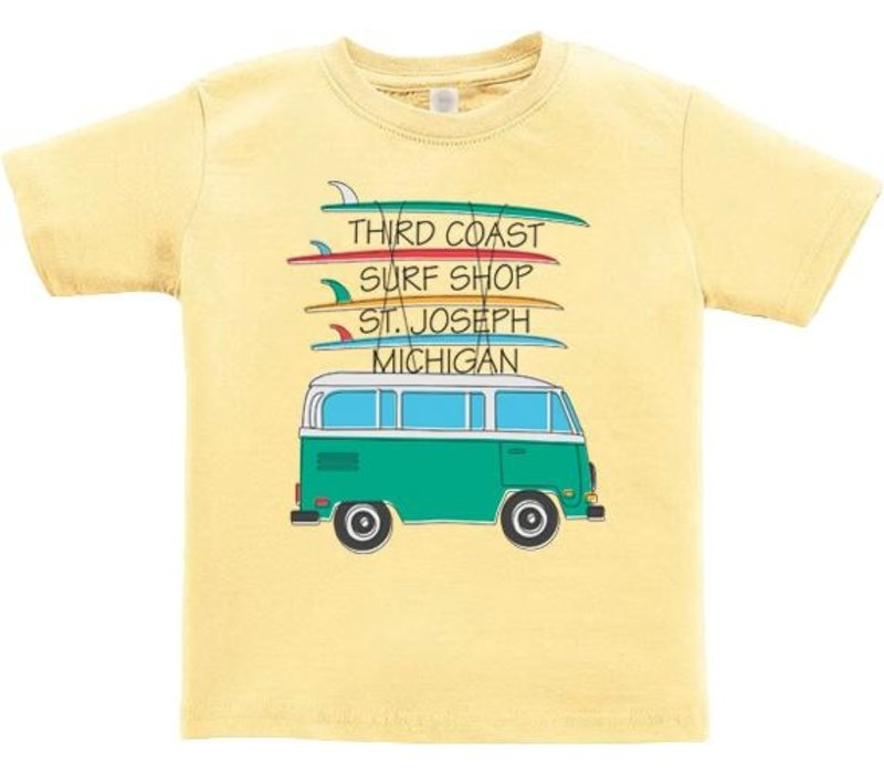 Third Coast Traveling Bus Toddler Butter