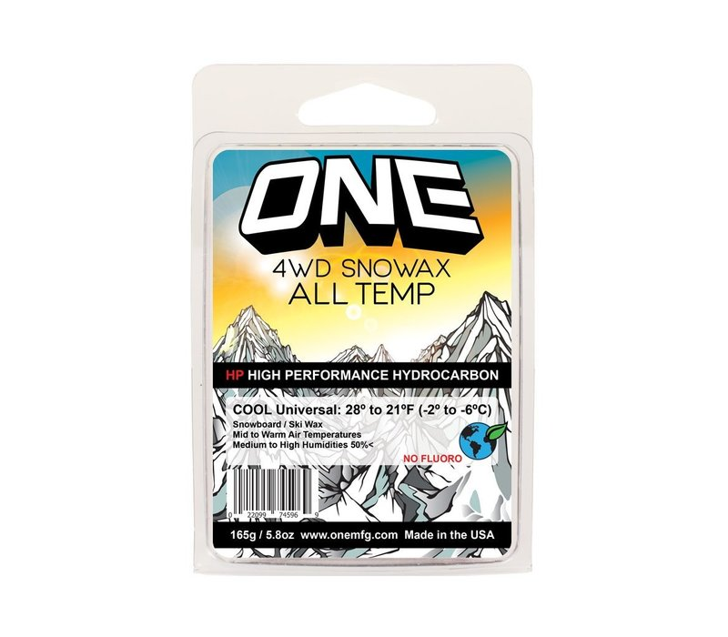 Oneballjay 4WD Warm Wax (165g)