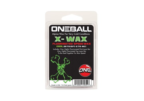 One Ball Jay Oneballjay X-Wax Cool Wax (110g)