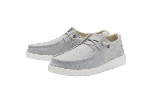 Heydude Shoes Heydude Wendy Stretch Fleece Glacier Gray