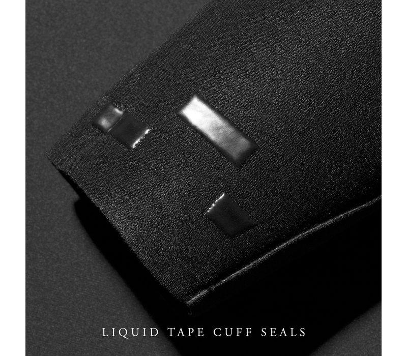 Vissla Seven Seas Comp 3/2 Chest Zip Black
