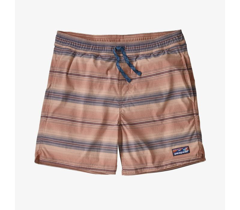 """Patagonia M's Stretch Wavefarer Volley Shorts 16"""" Rotation: Mellow Melon"""