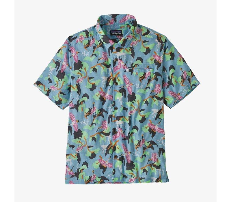 Patagonia M's LW A/C Shirt Spoonbills: Big Sky Blue