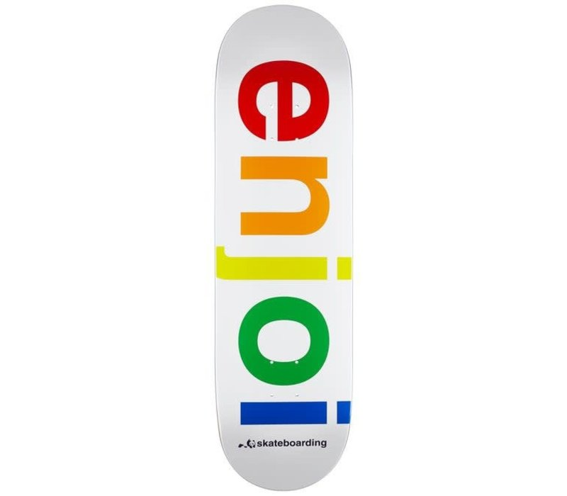 Enjoi Specturm Deck 9.0 White