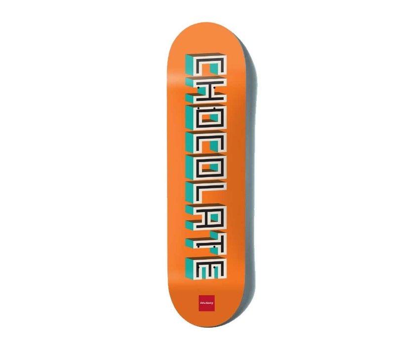 Chocolate Eldridge Bar Logo Deck 8.0