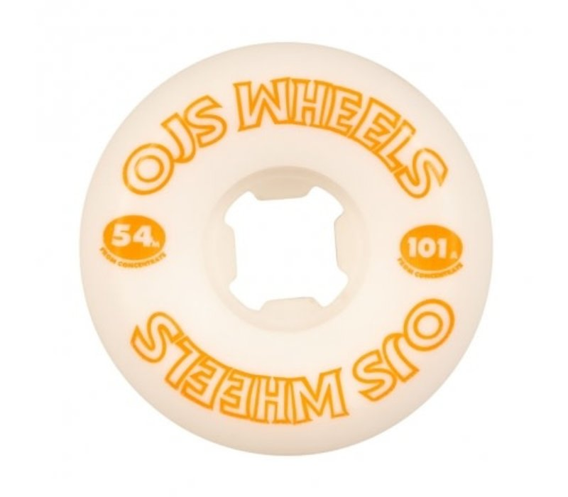 OJ From Concentrate Hardline 54mm 101a White