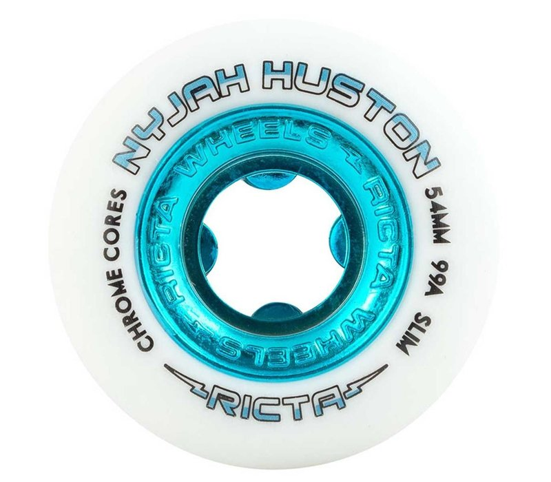 Ricta Nyjah Chrome Core Slim 54mm White Teal