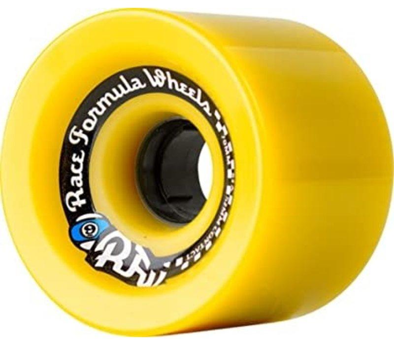 Sector Nine Race Formula 70mm 78a Yellow