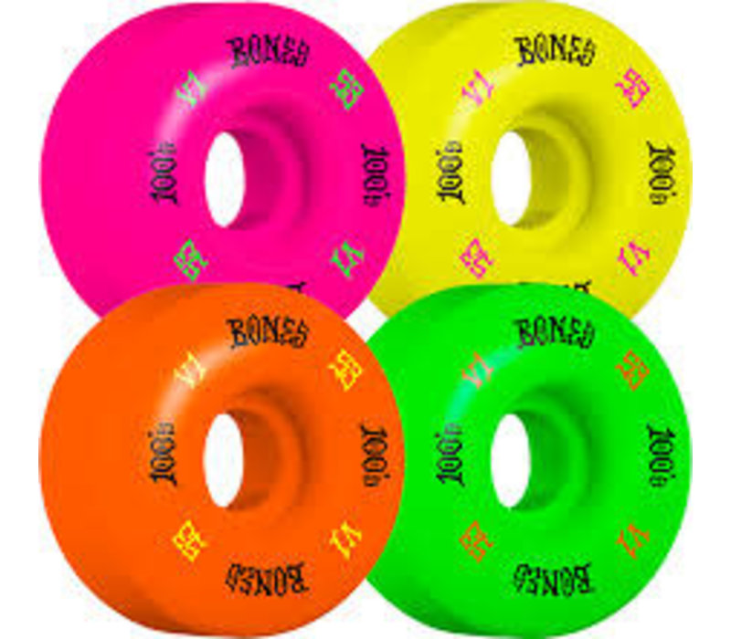 Bones 100s OG V1 #4 52mm Party Pack Mutli