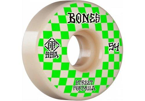 Bones STF V3 Patterns 99a 54mm White/Green