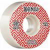 Bones STF V2 Patterns 103a 53mm White/Red