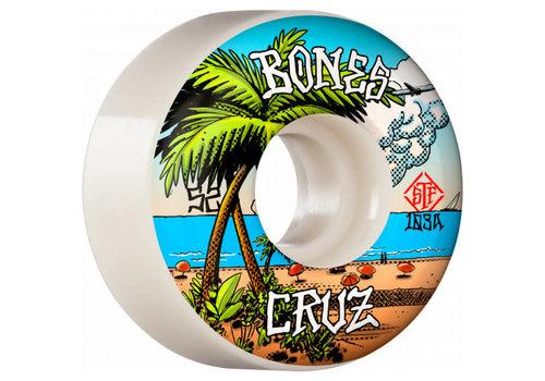 Bones Cruz STF V2 Buena Vida 52mm white