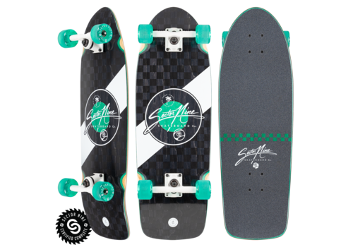 """Sector 9 Sector 9 Mosaic Fat Wave Complete 30"""" x 9.8"""""""