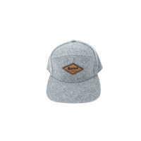 Third Coast 7-Panel Hat Grey Wool