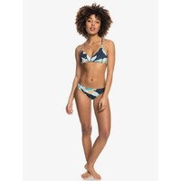 Roxy Printed Beach Classics Moderate Bikini Bottoms Mood Indigo