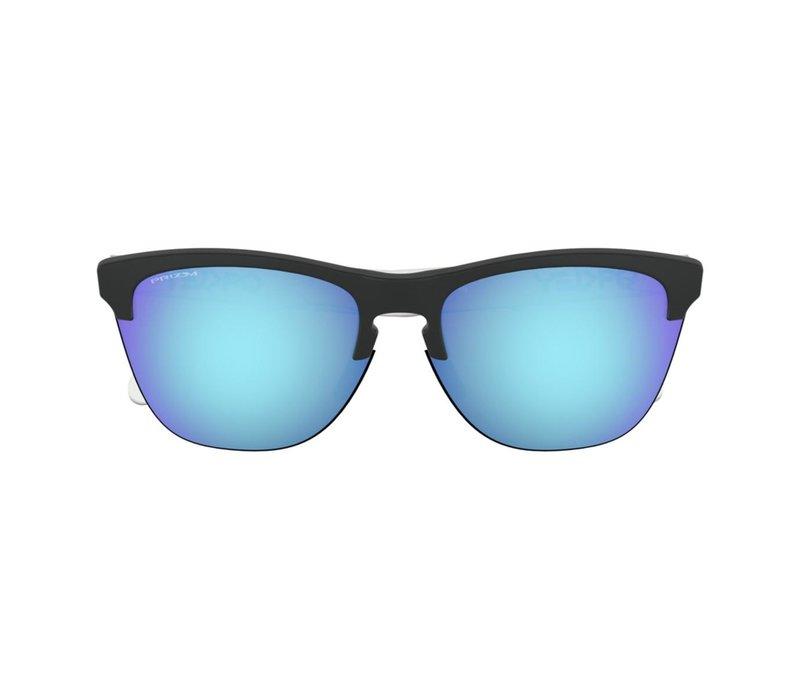 Oakley Frogskins Lite Matte Black/Prizm Sapphire Lens