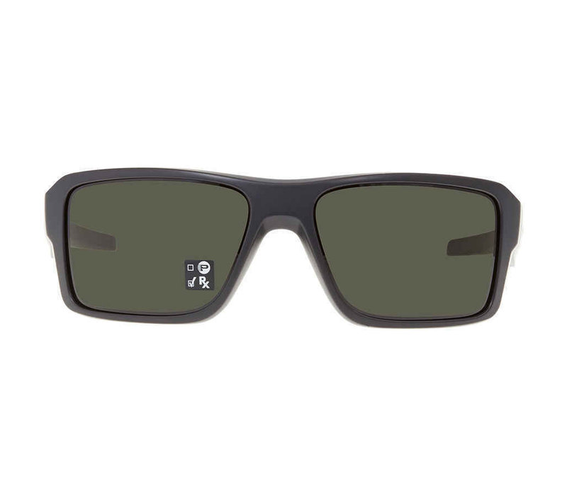 Oakley Double Edge Matte Black/Dark Grey Lens