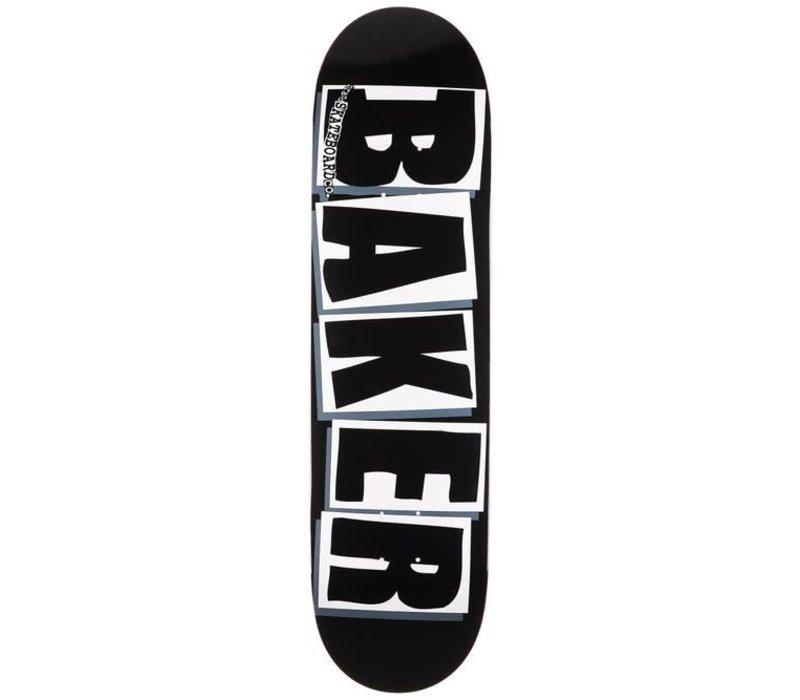"""Baker Brand Logo Deck 8.0"""" Black"""