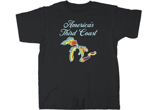 Third Coast America's Third Coast Tee Black