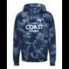 Third Coast Third Coast Bolts Navy Tie Dye Hoodie