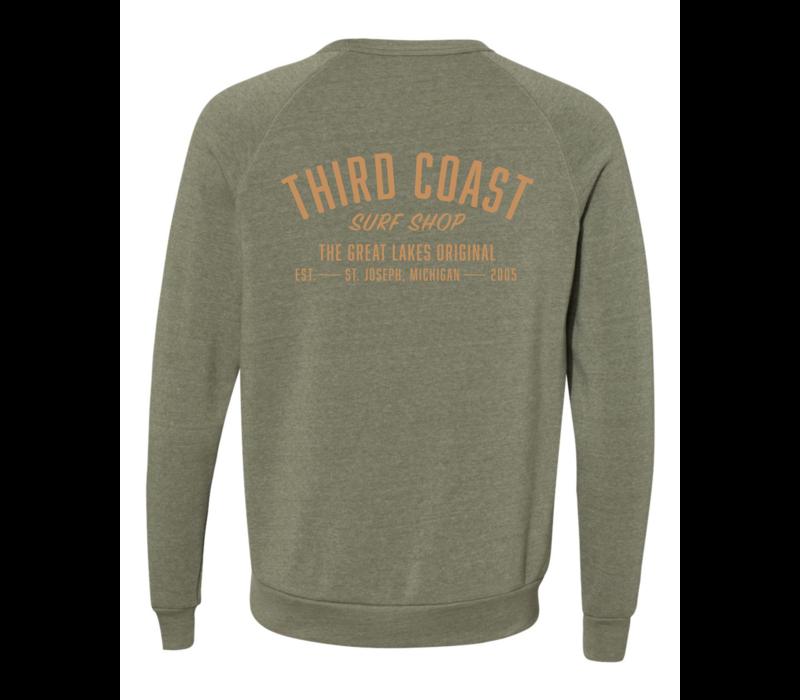 Third Coast Great Lakes Original Crew Pine