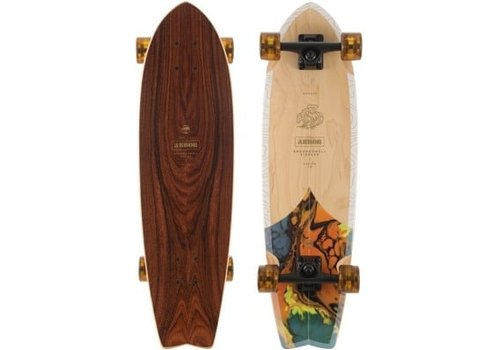 """Arbor Arbor Groundswell Sizzler 30.5"""" Complete"""