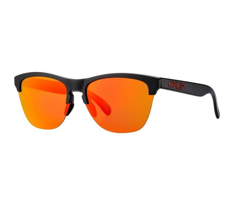 Oakley Frogskins Lite Semi Matte Black w/ Prizm Ruby Lens