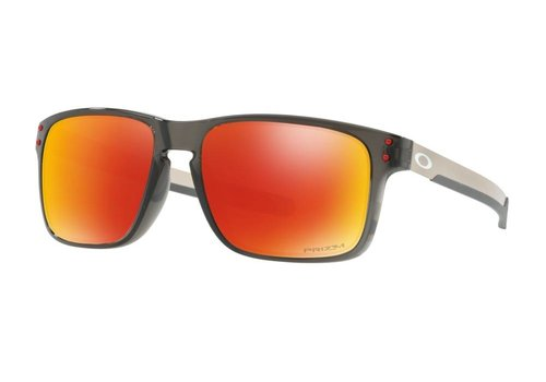 Oakley Oakley Holbrook Mix Grey Smoke w/ Prizm Ruby Polarized Lens